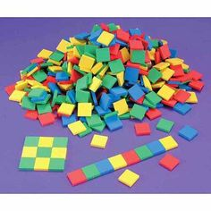 Learning Resources Square Color Tiles