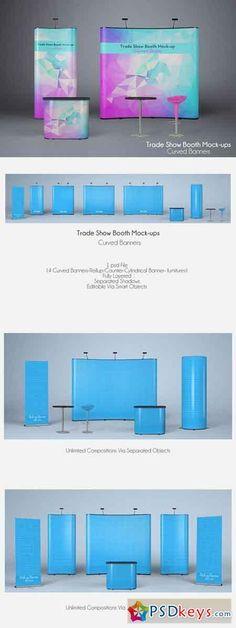 TRADE SHOW BOOTH MOCK-UPS V2 302479                                                                                                                                                                                 More