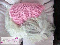 Knot Your Nanas Crochet: Small Dog Crochet Jumper