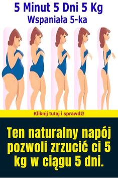 Ten naturalny napój pozwoli zrzucić ci 5 kg w ciągu 5 dni. Nutrition, Diet Tips, Health And Beauty, Latte, Detox, Weight Loss, Slim, Healthy, Junk Food