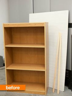 Before & After: Bookshelf Into Dollhouse