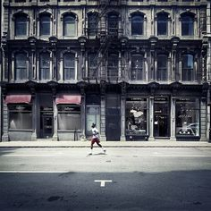 #RUNNER #MONTREAL by Ronny Ritschel #Photocircle #photoart from #Canada #NorthAmerica #fineart #streetphotography #symmetries #architecture #motion #wallart #artprints #socent #giftsthatgiveback #purchasewithpurpose  #Closethecircle - if you buy this photo Ronny Ritschel and Photocircle #donate 9% to provide communities in #Bolivia with better social infrastructure.