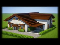 Minecraft Modern City, Minecraft Small House, Minecraft House Plans, Minecraft Cottage, Minecraft Mansion, Cute Minecraft Houses, Minecraft House Tutorials, Minecraft House Designs, Minecraft Architecture