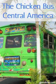 For backpackers, the term, 'chicken bus' is synonymous with Central America. Discover why to ride chicken buses and how to ride them like a pro when traveling through the region. Costa Rica, Honduras Travel, Countries To Visit, Travel Organization, Ultimate Travel, Culture Travel, Travel Guides, Travel Tips, Central America