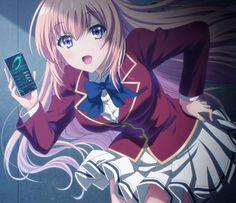 Omake Gif Anime - Youkoso Jitsuryoku Shijou Shugi no Kyoushitsu e - Episode 6 - Ayanokouji Helps Airi Up Anime Oc, Chica Anime Manga, Manga Girl, Cute Anime Character, Character Art, Anime Classroom, Otaku, Beautiful Anime Girl, Kawaii Anime Girl