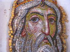Ψηφιδωτό Αγ. Δίκαιος Μελχισεδέκ στο Καθεδρικό Ναό Αγίου Γεωργίου.