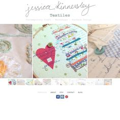 Website now up and running! www.jessicakinnersleytextiles.com