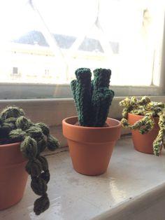 Deko Pflanze für deine Wohnung und fürs Büro von Gohli auf Etsy Shops, You Are Awesome, Planter Pots, Easy, Austria, Plants, How To Make, Handmade, Etsy Shop