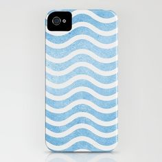 Waves. iPhone Case