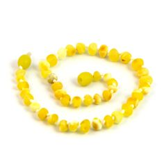 Hazelaid Baltic Amber necklace for teething, drooling, and pain relief