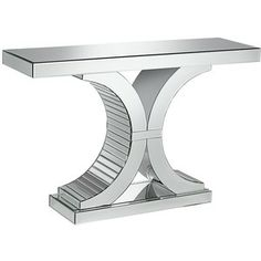 Giselle Mirrored Console
