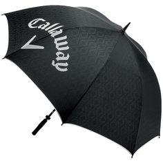 Callaway Golf Umbrella - Black ($25) ❤ liked on Polyvore