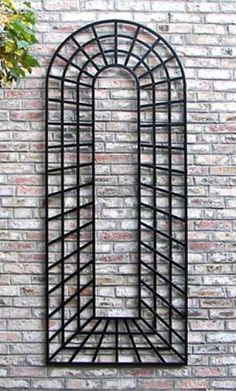 Metal Wall Trellis metal wall trellis are great for growing climbing plants up walls