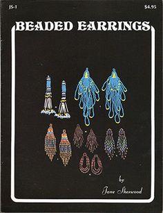 Beaded Earrings by Jane Sherwood JS-1 (Like NEW) at Sova-Enterprises.com