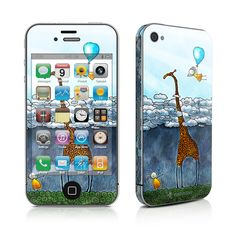 iPhone 4 Skin - Above The Clouds by Vlad Studio | DecalGirl