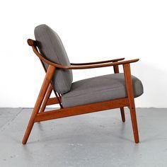 Mid Century Modern Teak Easy Chair from Denmark 60s | Danish Teak Sessel 60er