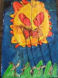 maui and the sun art activities - Google Search