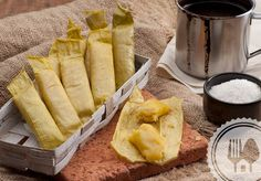 Rasamasa - Timpan. Steamed banana cake from aceh
