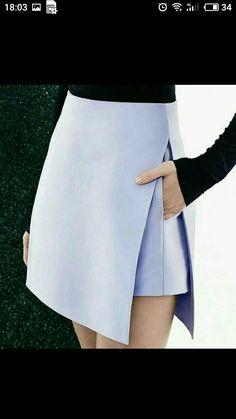 Mod skirt clickbytaste: clickbytaste: via fashionwolf and brunchatbergdorfs: Details at Dion Lee Resort 2015 Look Fashion, Fashion Details, Womens Fashion, Fashion Design, Fashion 2018, Fashion Fall, Street Fashion, Dress Skirt, Dress Up
