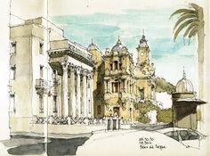 Málaga, Paseo del Parque
