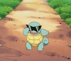 Day Favourite starter Pokemon - Squirtle (After birth, its back swells and hardens into a shell. Powerfully sprays foam from its mouth. Pokemon Gif, All Pokemon, Cute Pokemon, Pokemon Original, Poker, Squirtle Squad, Mudkip, Pokemon Pictures, Funny Pictures