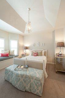 Redfern Residence - traditional - bedroom - dc metro - by Heather ODonovan Interior Design