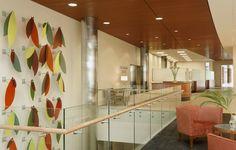 SSM St. Clare Health Center lobby artwork design by Spellman Brady & Company