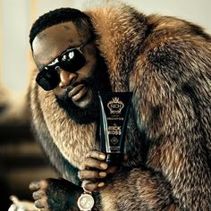 My bro in that custom fur by 👑👑👑 hair products dropping next month! Rick Ross Songs, Beard Conditioner, Urban Beauty, Mens Fur, Hip Hop And R&b, Adam Sandler, Funny Vines, Men's Grooming, Beauty Supply