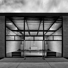 Robert Carr Memorial Chapel by Mies van der Rohe
