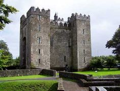 Bunratty Castle, Co. Clare, Ireland since restoration, fabulous self-guided tour
