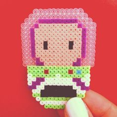 Buzz Lightyear Toy Story hama mini beads by adictaalarisa
