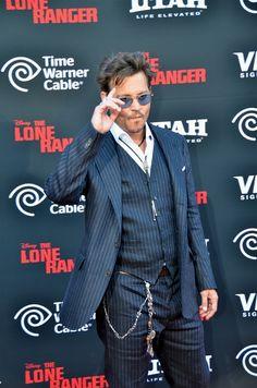 Johnny Depp: Lone Ranger Premiere Pictures