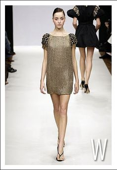 Chainmaille dress   #chainmaille #fashion