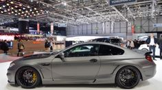 Anyone remember the Hamann Mirror? Need a refresher? The Mirror is German tuning company Hamann's idea of a BMW M6. It was shown at the 2013 Frankfurt Motor Show as an M6 Gran Coupe, sporting a ridiculous paint job and some meaty, multi-spoke 21-inch wheels.