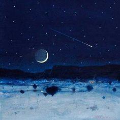 Tom Perkinson-Winter Night on the Mesa