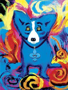 Original Blue Dog Silkscreens - George Rodrigue Studios