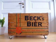 Seltene Becku0027s Truhe Kiste Tisch Holzkiste Rol Von ILoveSparrows Auf  DaWanda.com