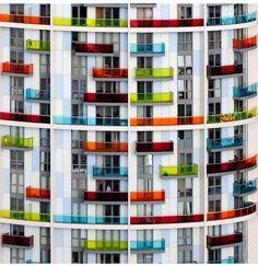 UK - London 2012 - Olympic Park - Icona Building