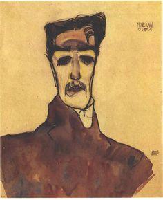 Egon Schiele | Mime van Osen | 1910