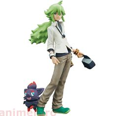 Pokemon Black & White DXF Figure Partners N - Natural Harmonia Gropius with Zorua (A)   Getting this for Nick one day. Either birthday or Christmas present :3