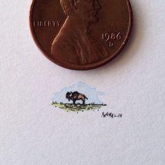 Smaller than a penny