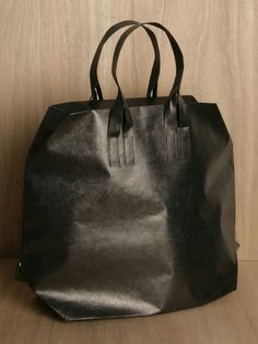 black PAPER bag by saskia diez