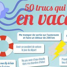 Poster vocabulaire A2-B1: 50 trucs qui m'énervent en vacances