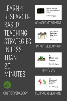 9 research based teaching strategies for your toolbox fresh ideas we have a fantastic collection of videos to teach you how to implement research based fandeluxe Image collections