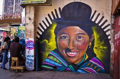 Street art in La Paz by Animal Poder Cultura