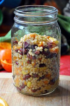 Sesame Couscous Salad