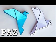 Manualidades - Cómo hacer una palomita - Manualidades para todos - YouTube