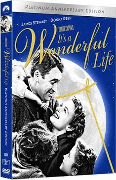 It's a Wonderful Life (Vudu Digital Video on Demand) Holiday Movie, Christmas Movies, Christmas Town, Christmas Music, Beulah Bondi, Paramount Movies, Gloria Grahame, Frank Capra, Donna Reed
