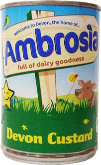 Ambrosia Devon Custard from the UK has no artificial colours, flavours or preservatives. It is gluten free and suitable for vegetarians.