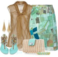 """Tiffany Bag"" by fantasy-closet on Polyvore"